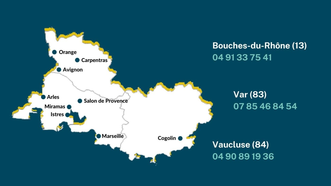 sites de formation en région paca