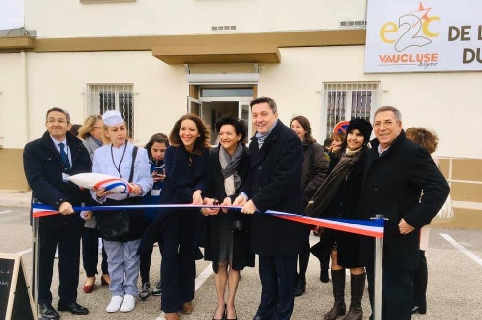 Inauguration E2C avignon