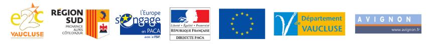 bandeau logos E2C Vaucluse