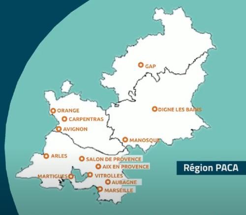 Centres de formation région paca pôle emploi